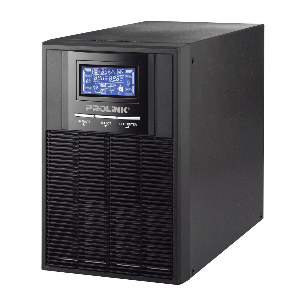 PROLiNK 1KVA / 800W Pure Sine Wave Online UPS with AVR PRO901WS