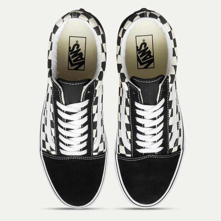 Unisex Vance Shoes VAN OLD SKOOL Black//White Classic Canvas Sneakers Lowtop