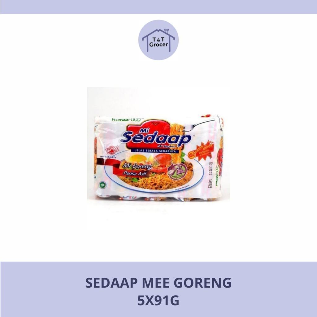 Mi Sedaap (Packet) Goreng 5x91g