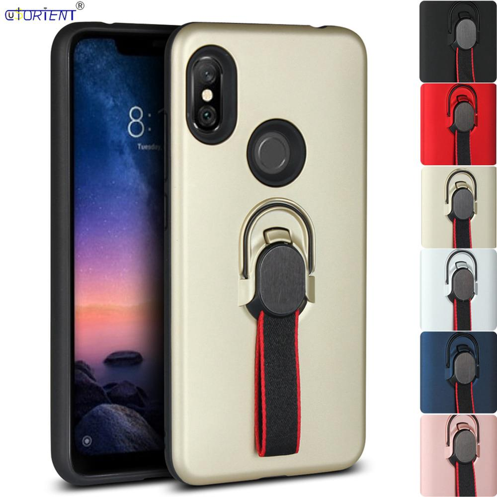 b452b6a05d Armor Cover Xiaomi Redmi Note 6 Pro Bumper Case Xiomi Red Mi Note6 ...