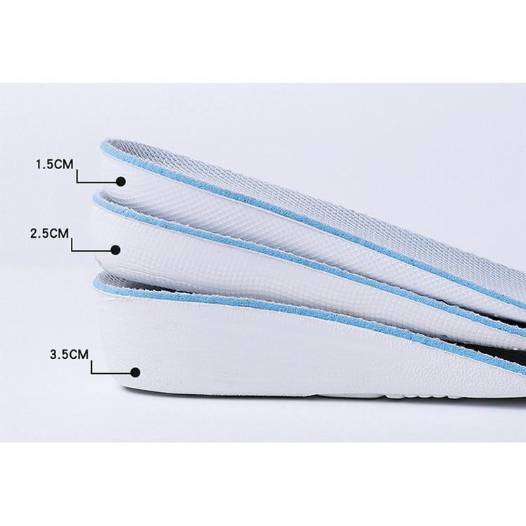 แผ่นเสริมส้น เพิ่มความสูง ที่เสริมส้นรองเท้า แผ่นเสริมส้นรองเท้า เพิ่มส่วนสูงได้ 3 ระดับ X
