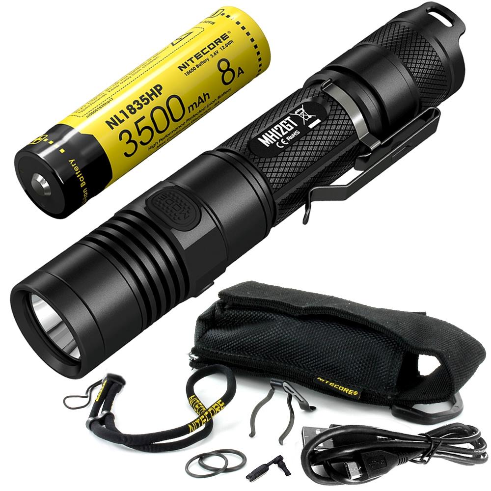 Nitecore mt22c LED linterna 1000 lúmenes