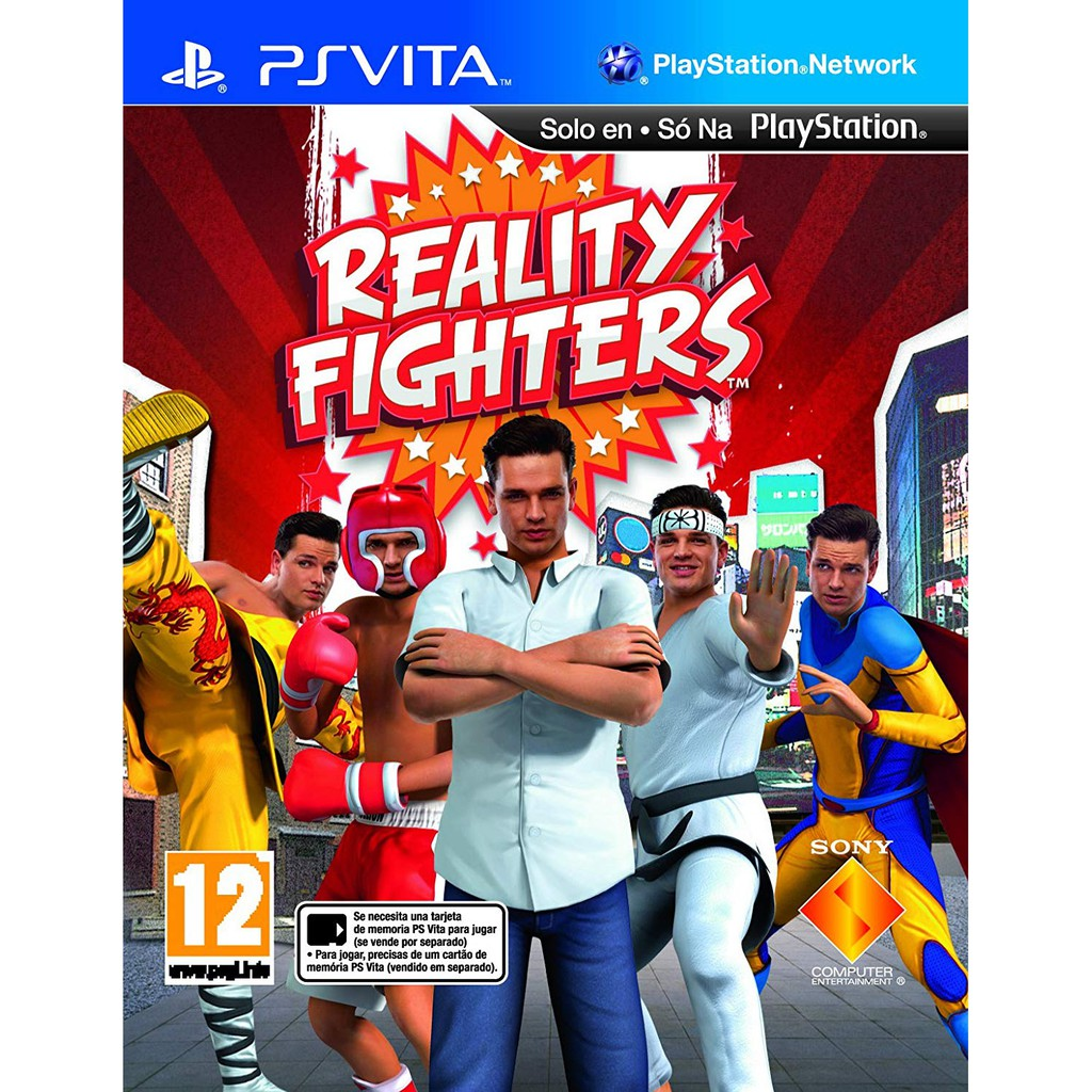 PS Vita Reality Fighter (R All)(English)(New)