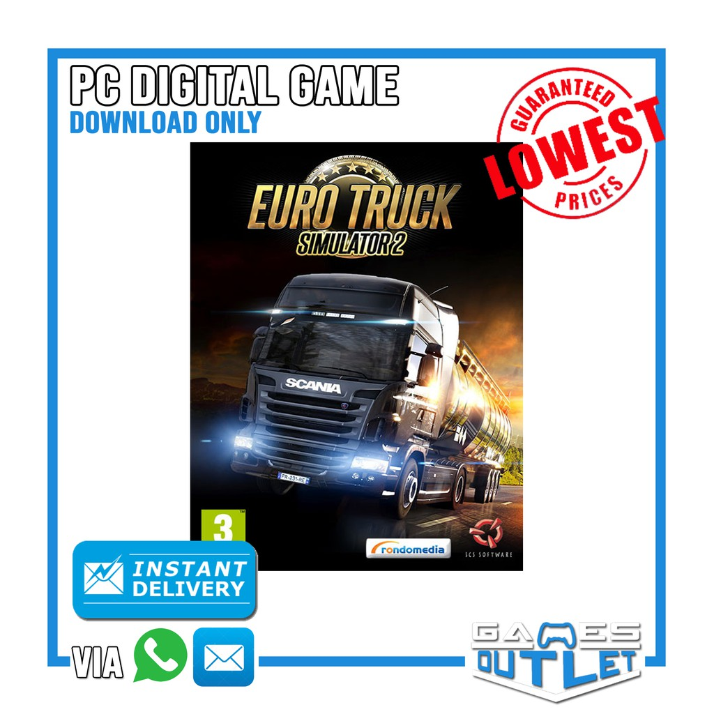 PC Euro Truck Simulator 2 100% original