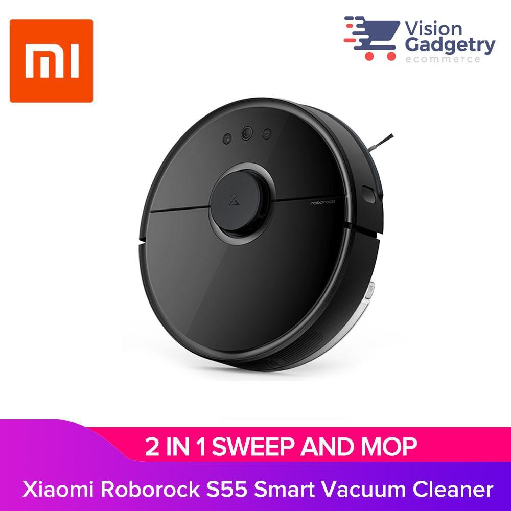 Xiaomi Roborock Smart Robot Vacuum Cleaner Mop 2nd Generation S50 S51 S55  Black