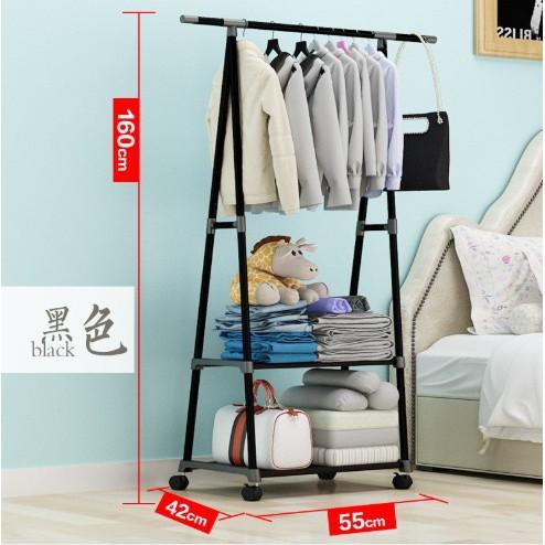 Clothes Hanger Space Saving Hanger Baju Cloth Garment Hanging Organizer Steel Rack /Clothes Hanger/Penyangkut Baju/