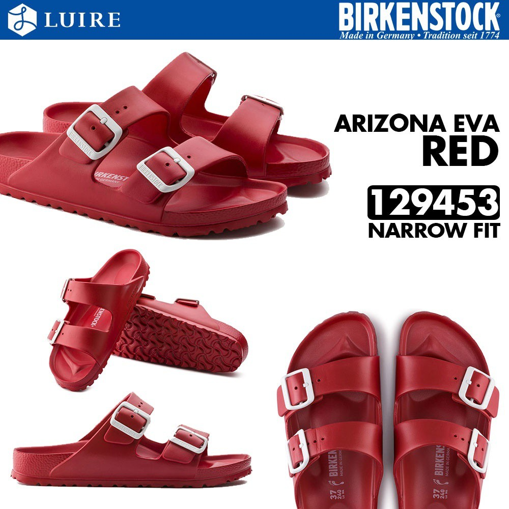 2bb99c47eec  BIRKENSTOCK  ARIZONA EVA - RED