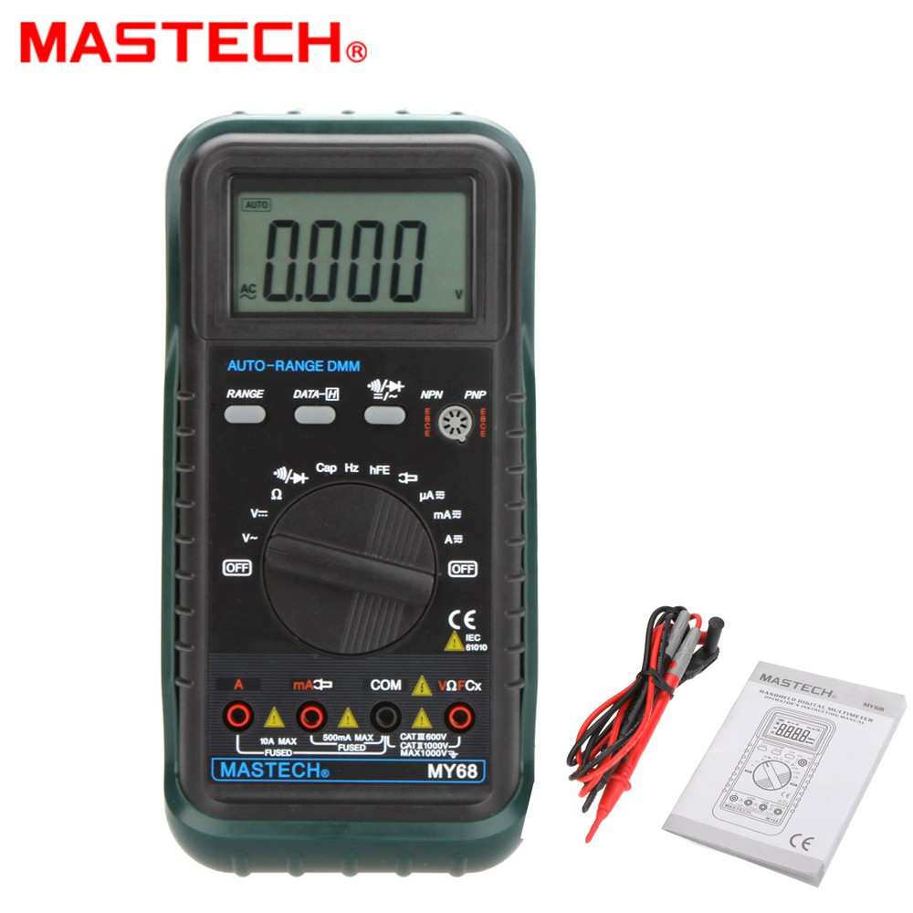 UNI-T UT33B LCD Handhold Digital Multimeters Manual Range AC/DC Voltage Meter | Shopee Malaysia