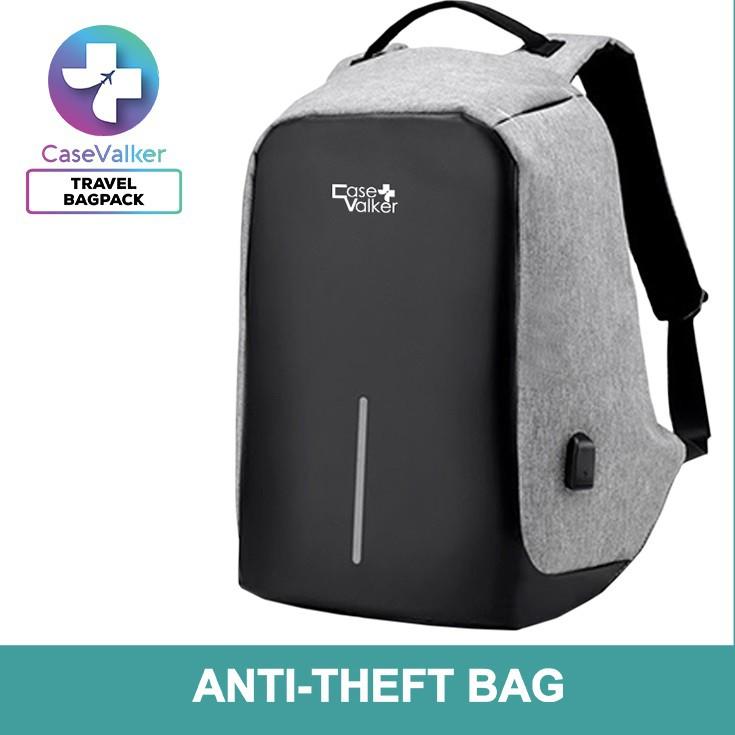 92e9c71c30a4 Case Valker Anti Theft Double Strap Laptop Backpack