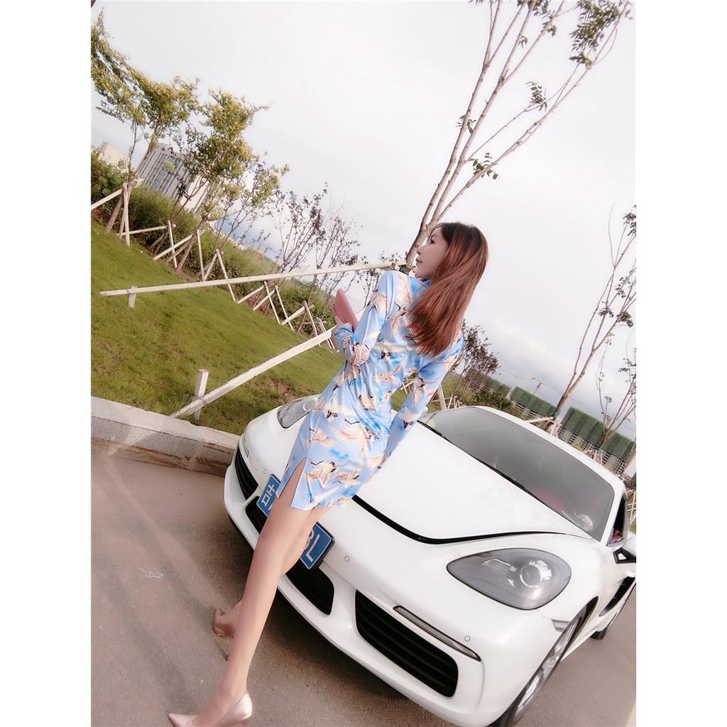 Cheongsam/Qipao/Evening Dress/Dinner/CNY/Short Sexy Dress/Elegant 短款旗袍连衣裙