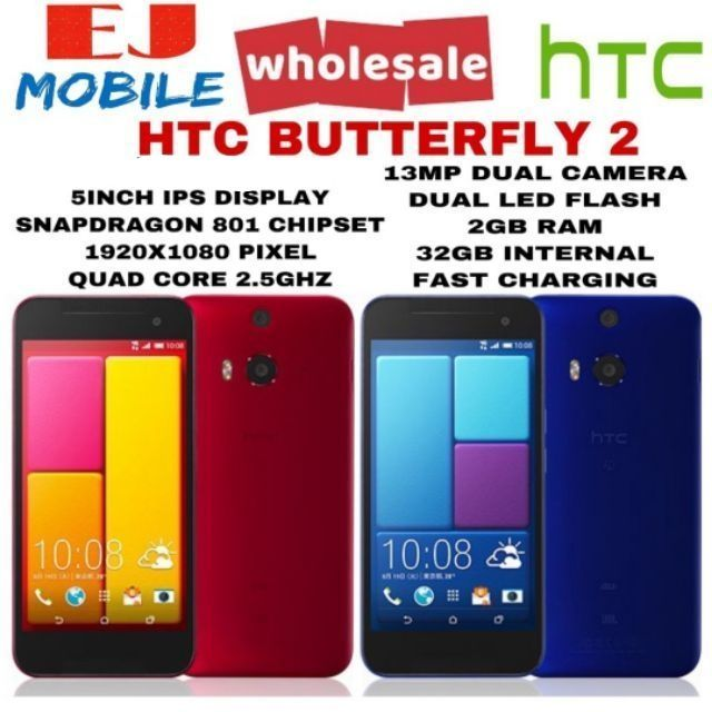 HTC ONE M8/BUTTERFLY 2(100% ORIGINAL HTC DEVICE)(PRE-OWNED)