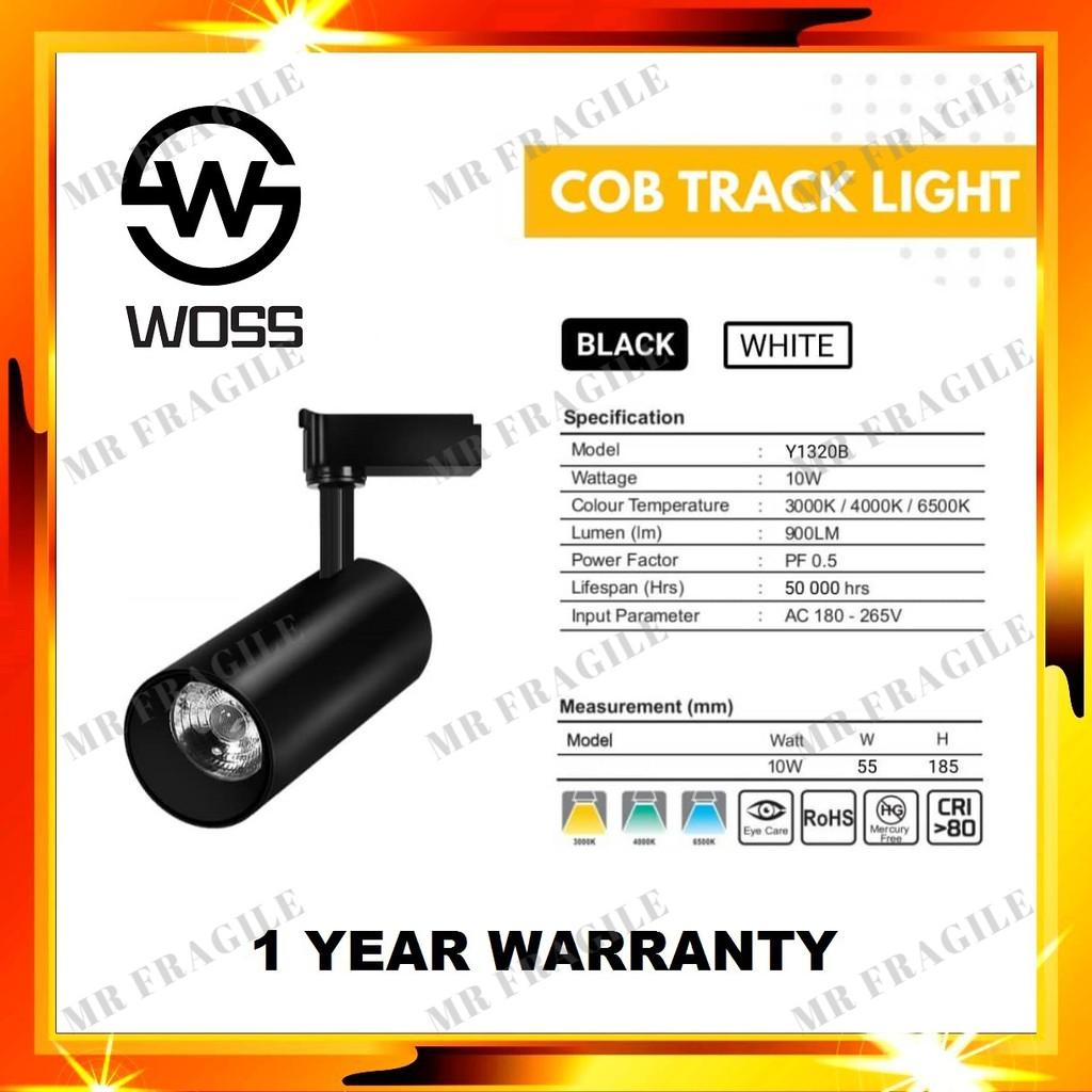 WOSS 10W COB LED Track Light Spot Light / Led Ceiling Track Light 10W