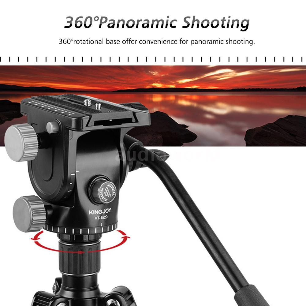 Q111 Damping Video Shooting Plastic Tripod Head for Cameras//SLR Cameras Durable