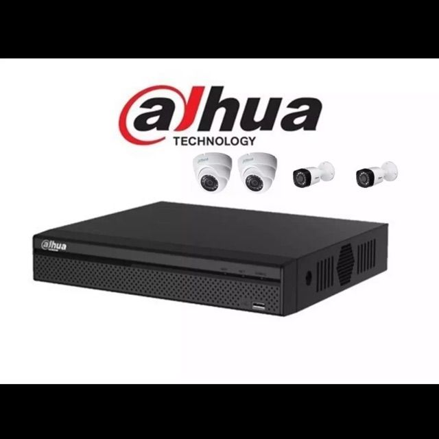 Dahua 1080P 4CH (2mp) DIY Package