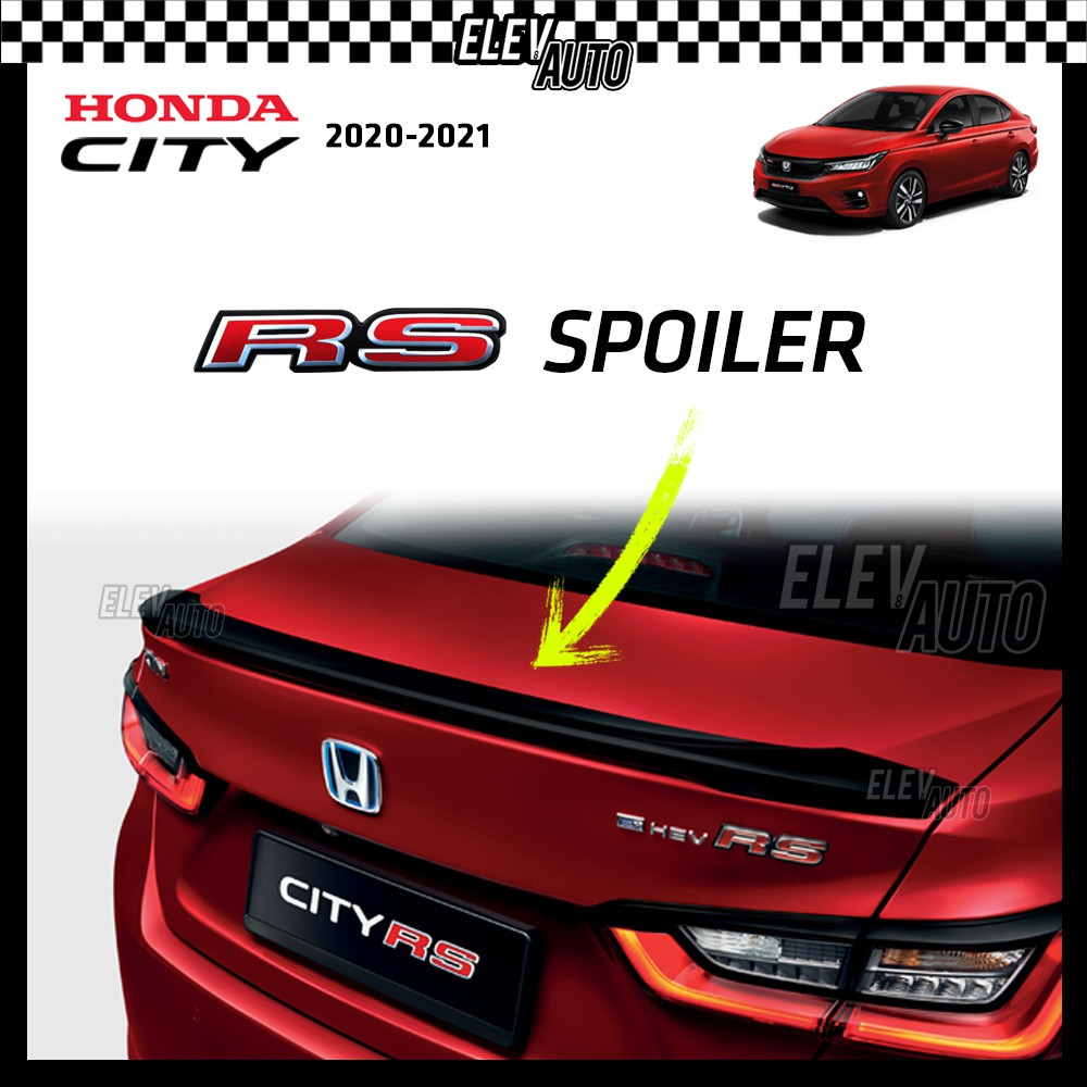 RS Spoiler Wing Honda City 2020 2021