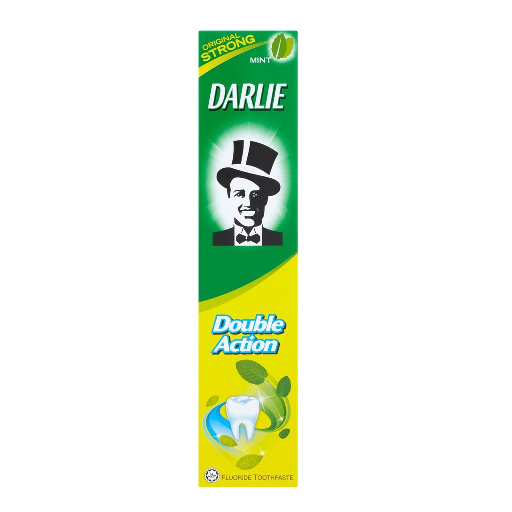 Darlie Double Action Fluoride Toothpaste Original Strong Mint (100g)