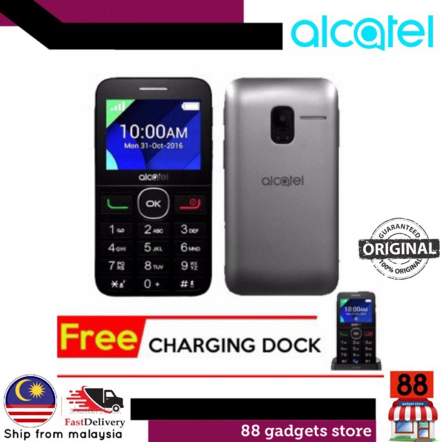 Alcatel 2008D OLD MAN PHONE ( Warranty By Alcatel Malaysia )