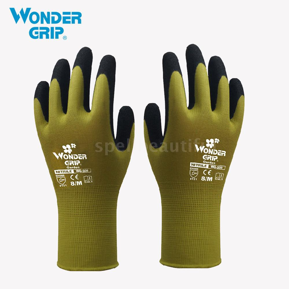 dcfd04038ce75 Spell♂Wonder Grip Gardening Safety Glove Nylon With Nitrile Coated Work  Glove Ab | Shopee Malaysia