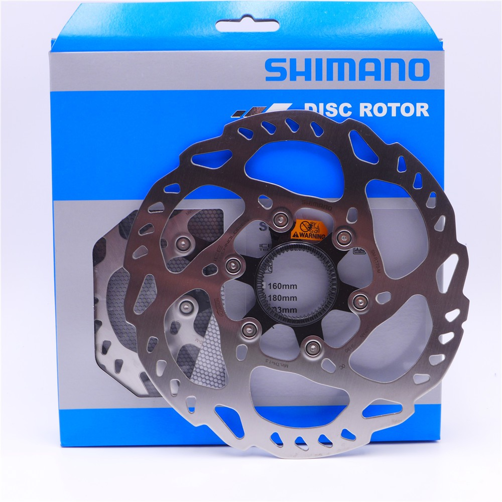 New Shimano BR-M315 Hydraulic Disc Brake Centerlock RT53 6-bolt Rotors HS1 Black