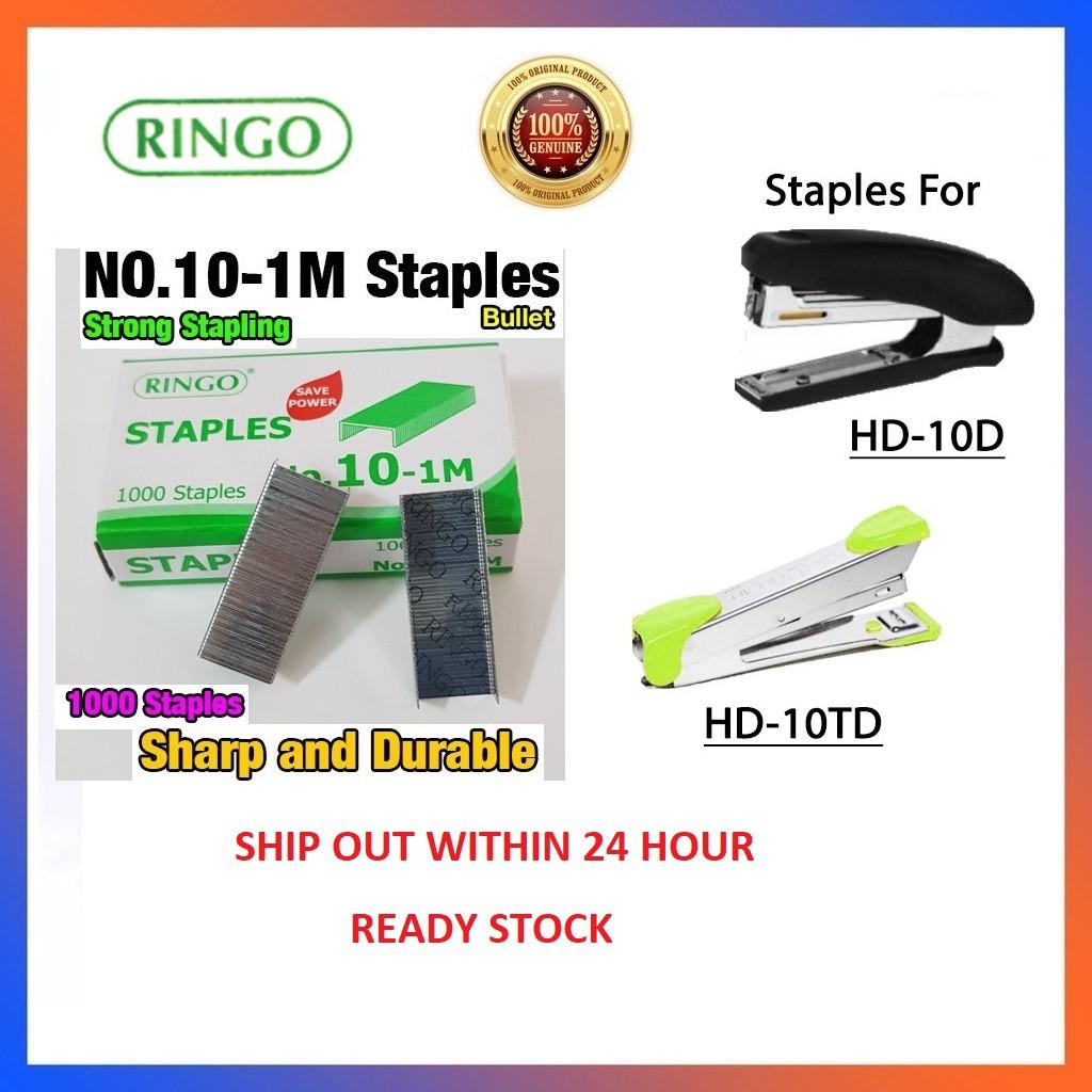 [Ready Stock]Ringo Staples No.10-1M Fine (Similar MAX Quality) (PREMIER QUALITY)