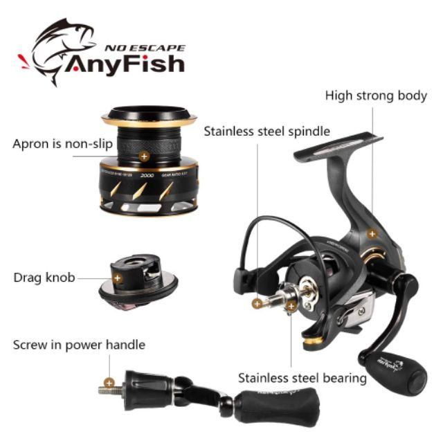 ANYFISH RAPPY SPINNING REEL