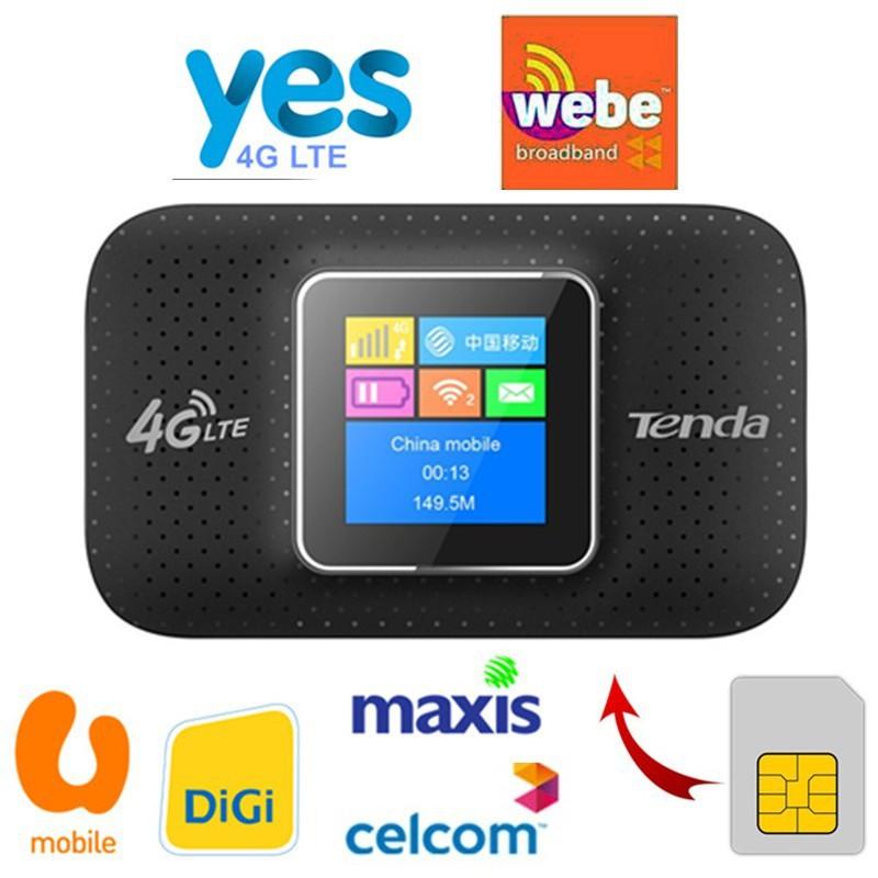 Tenda 4G Pocket WiFi 4G185