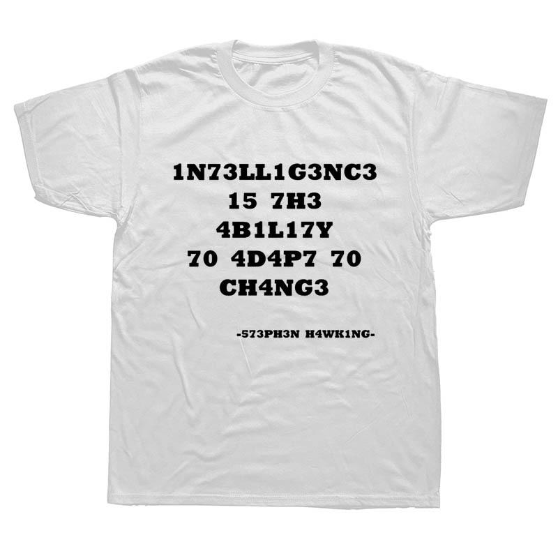 """ALBERT EINSTEIN /""""INTELLIGENCE QUOTE/"""" T SHIRT"""