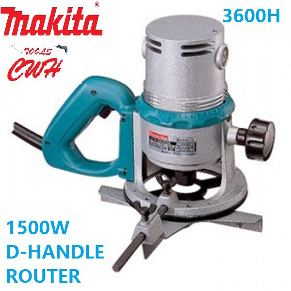 MAKITA 3600H 12MM 1500W ROUTER LAMINATE TRIMMER 3600 h