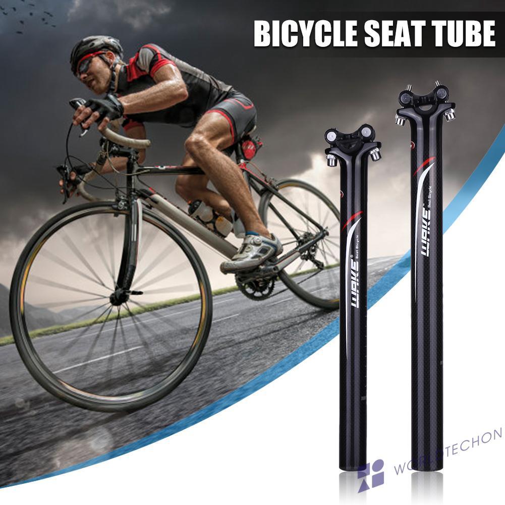 WAKE Carbon Fiber Seat Post Stem Bike Cycle Road MTB Mountain bike 27.2//31.6❤B