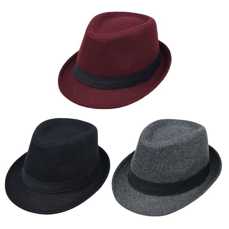 ad54472c New Women Lady Vintage Wool Round Fedora Bow Cloche Derb Felt Bowler Cap Hat  | Shopee Malaysia