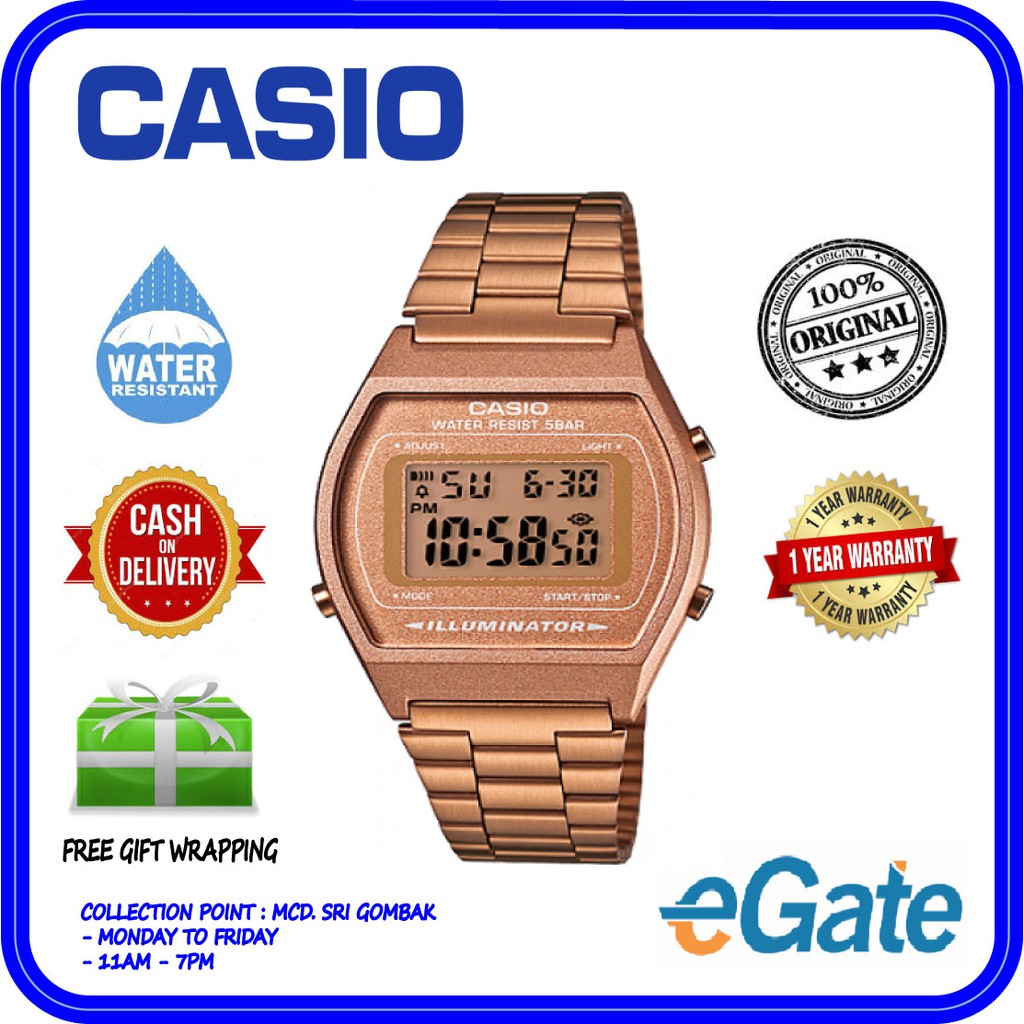 509c247e2347 ⌚️100% ORIGINAL CASIO ROSE GOLD LIMITED EDITION 🌹