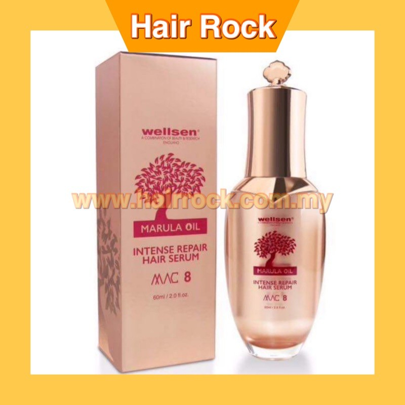 WELLSEN MARULA INTENSIVE REPAIR HAIR SERUM MAC8 60ML