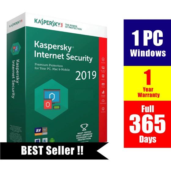 2019 Original Kaspersky Internet Security for PC