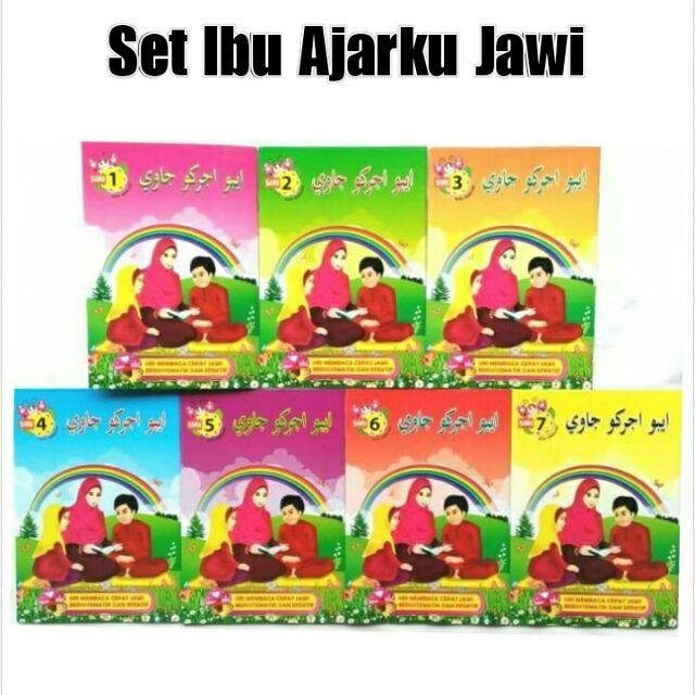 Ibu Ajarku Jawi (7 buah buku per set)