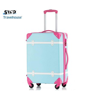 SWP 20/ 24 inch Old School Anti-scratch PC+abs Hard Luggage