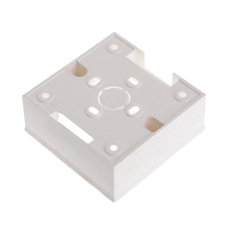BOOM 86X86 PVC Junction Box Wall Mount Cassette For Switch Socket Base