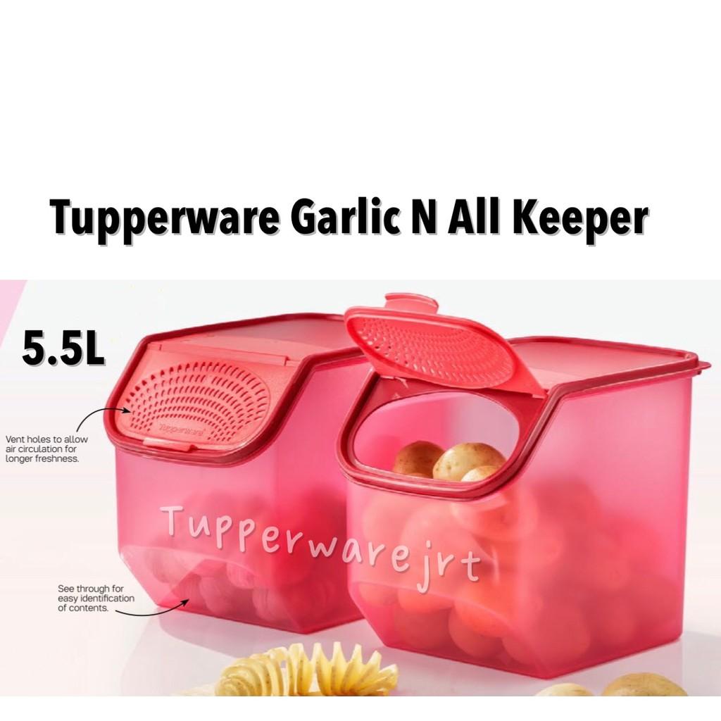 Tupperware Garlic N All Keeper 5.5L X 1pc