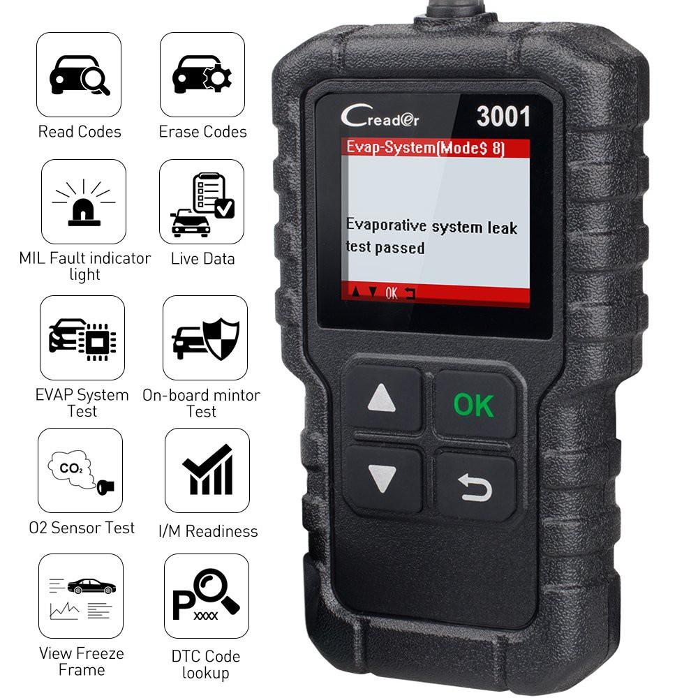 Car Scanner EOBD OBD2 OBDII Diagnostic Live Data Code Reader Check Engine Scan