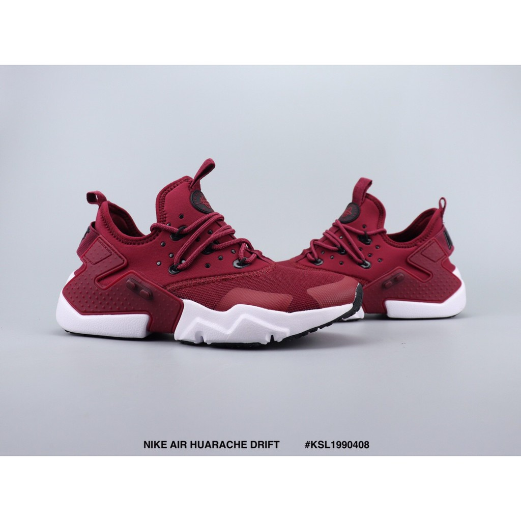 brand new 9bfe2 bc27b 🌟🌟Ready Stock NIKE AIR HUARACHE DRIFT red running shoes