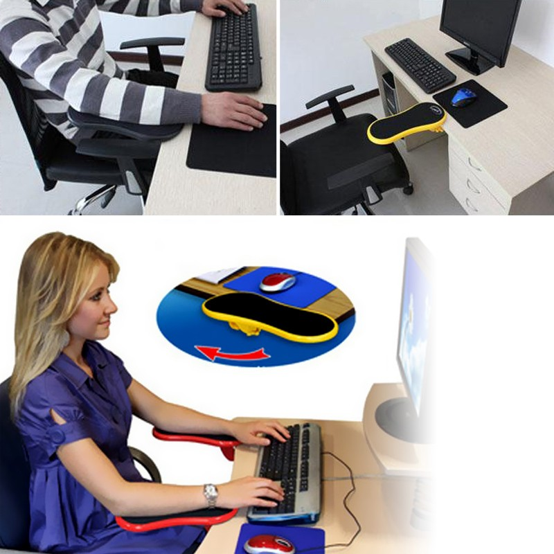 Learned Ig-hand Shoulder Protect Armrest Pad Desk Attachable Computer Table Arm Support Mouse Pads Arm Wrist Rests Chair Extender For Mouse Pads