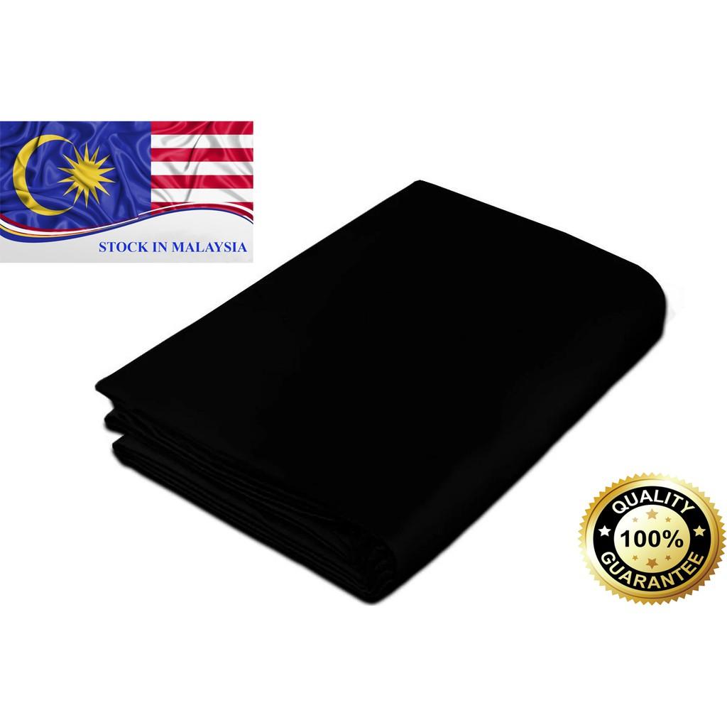 Black Muslin Photography Backdrop 3m x 6m (Ready Stock In Malaysia)