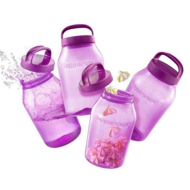 🔥HOT ITEMS🔥Tupperware Universal Jar 3L(Purple) / Airtight Container