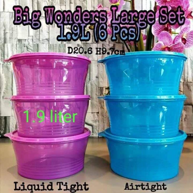 Big Wonder Set Tupperware 1pc (1.9L)