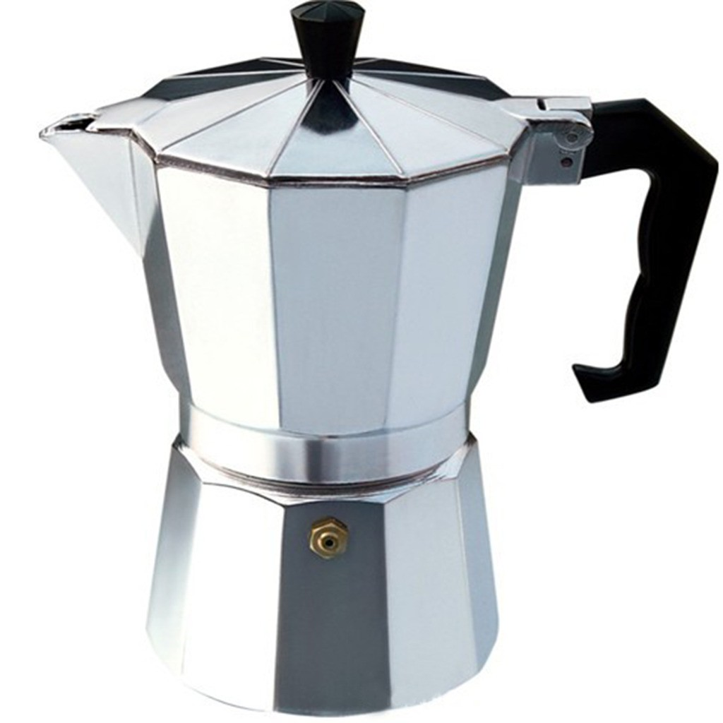 Aluminum Moka Pot Eight Angle Coffee Pot | Shopee Malaysia