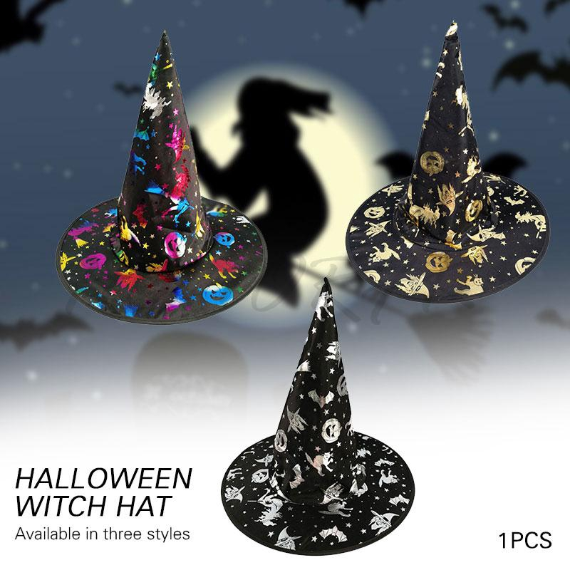 dbf21d872 👍Wholesale👍 Witch Hat Halloween Costume Party Cloth Hats
