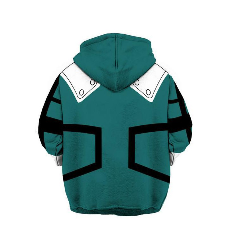 e7f498471 【Value】My Boku No Hero Academia Hoodie Casual Hooded Anime 3D Pullover  Sweater