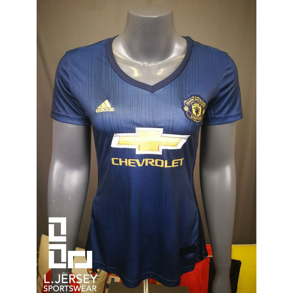 Manchester United Women 3rd Kit Season 18/19 CLIMALITE Fans Jersey