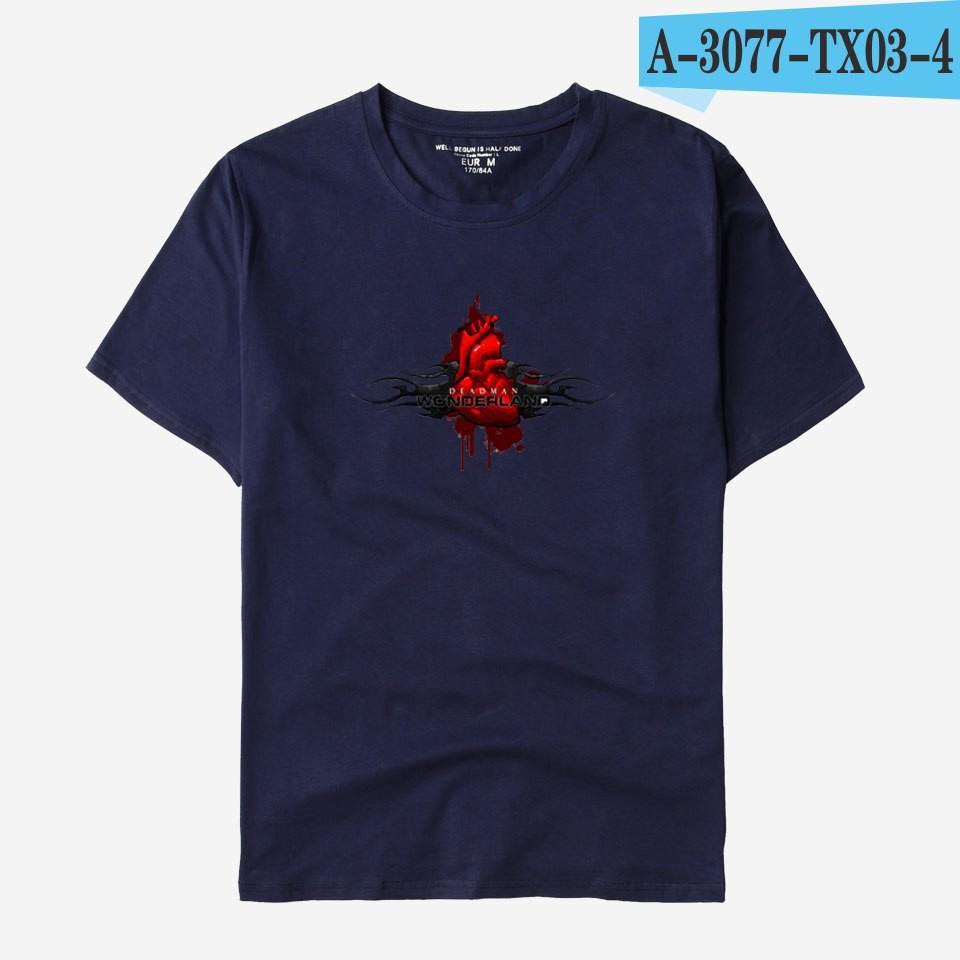 techniques modernes hot-vente authentique Chaussures de skate Deadman Wonderland Tshirt Men Japanese Anime T Shirts Tee Shirt Homme De  Marque Tops
