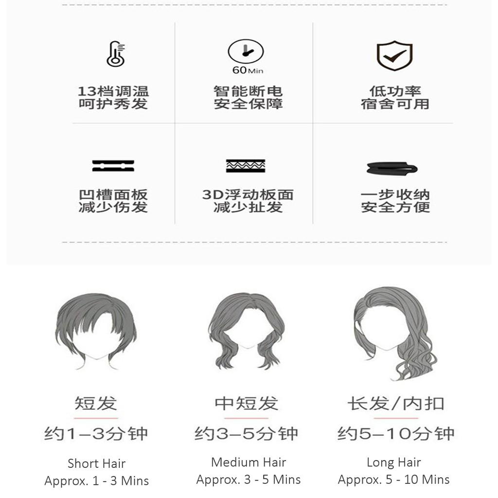 [New Design] 2 in 1 Hair Styling Tool Hair Curler & Straightener in Spiral Shape螺旋形夹板直发卷发两用/直发器/卷发棒