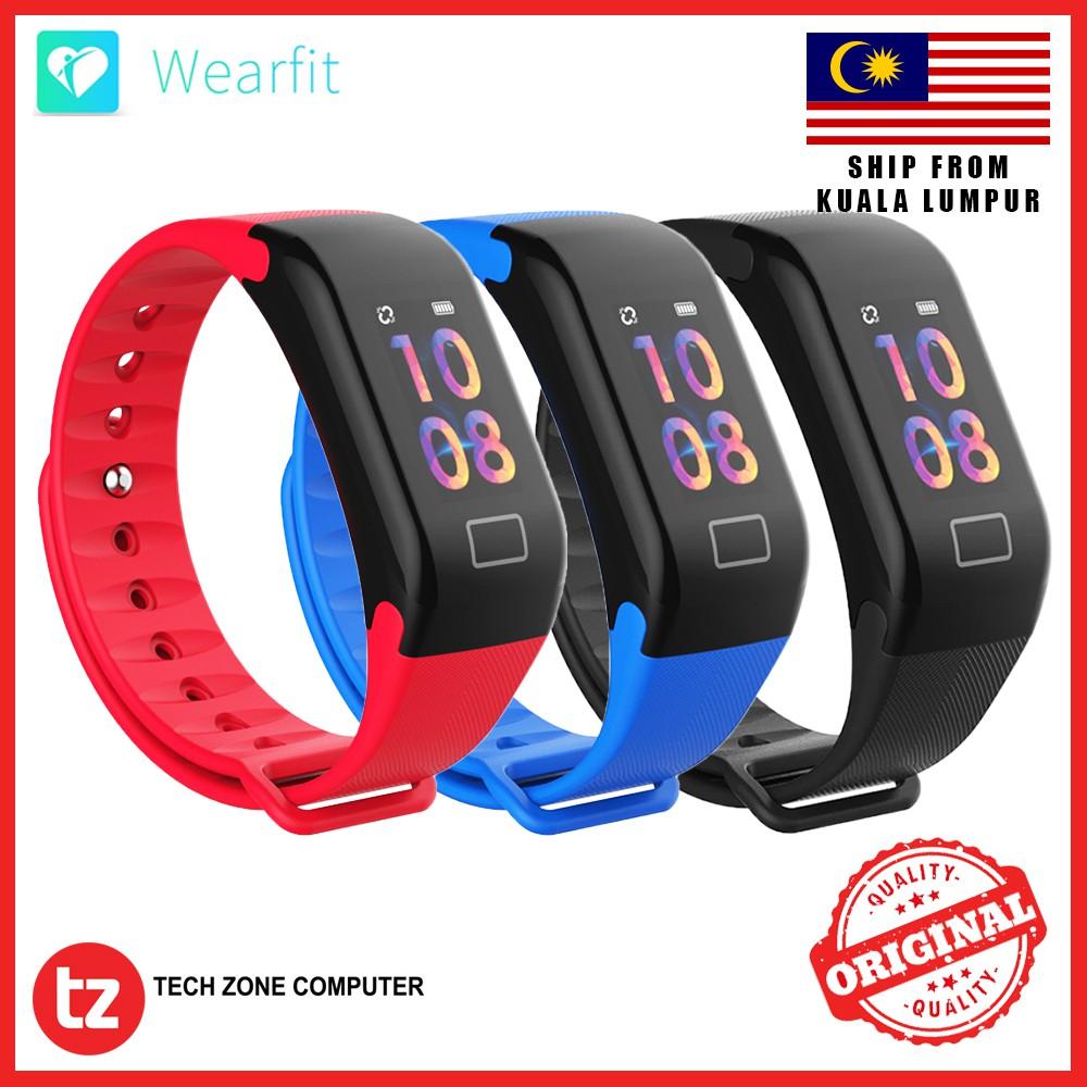 [ORIGINAL] WEARFIT F1 PLUS Color Display Fitness Tracker Smart Watch